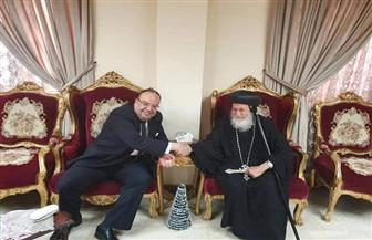 سفير مصر في الخرطوم يشارك في قداس عيد الميلاد المجيد