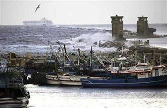 توقف الملاحة البحرية في بوغاز ميناءي الإسكندرية والدخيلة لليوم الثالث بسبب الطقس