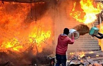 بسبب عشة.. شقيقان يشعلان النار في منزلهما بالحوامدية
