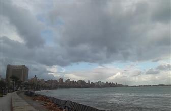 طقس سيئ وأمطار غزيرة تضرب الإسكندرية لليوم الثالث على التوالي   صور