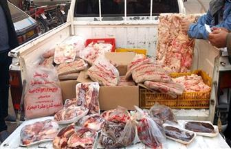ضبط أغذية غير صالحة للاستخدام الآدمي بالمنوفية | صور