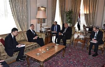 وزيرا خارجية مصر والصين يترأسان جولة الحوار الإستراتيجي بين البلدين   صور