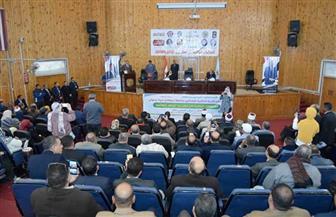 رئيس جامعة سوهاج: ننظم المؤتمرات التثقيفية لتوعية العاملين بدور المنظمات النقابية | صور