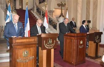 وزير خارجية فرنسا: الأزمة الليبية لن تحل إلا باحترام القوانين الدولية