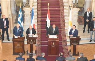 سامح شكري: الدعم التركي للمتطرفين متواصل.. وعلى المجتمع الدولي السعي لإحداث توافق في ليبيا
