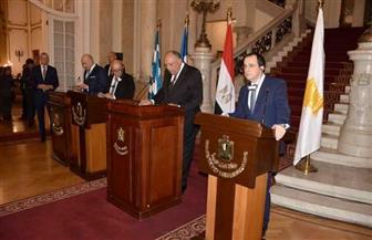 سامح شكري: الصراع في المنطقة يحتاج إلى حلول سياسية.. لا قوى عنف وتطرف