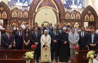 سفارات مصر بالخارج تشارك الجالية القبطية احتفالات عيد الميلاد | صور