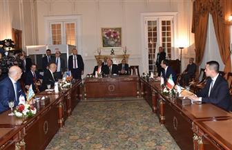 ننشر نتائج اجتماع وزراء خارجية مصر ودول بشرق المتوسط فى 10 نقاط | النص الكامل