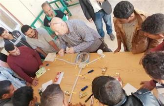 جامعة حلوان تشارك في دعم القرى الأكثر فقرا بأسوان  صور