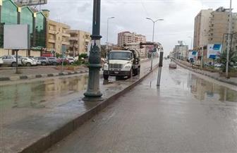 أمطارغزيرة على مدن وقرى الغربية | صور