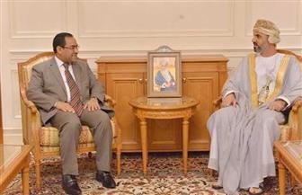 رئيس مجلس الشورى العماني يستقبل رئيس الجهاز المركزي للتنظيم والإدارة| صور