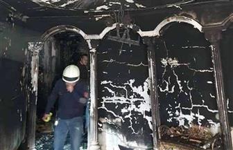 ننشر صور وفيديو من حريق فيلا والد الفنان إيهاب توفيق.. والمعاينة: تفحم الطابق بالكامل