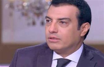 أحمد جمال يعزي إيهاب توفيق في وفاة والده