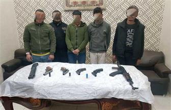 """""""مباحث القاهرة"""" تضبط قضايا مخدرات وسلاح في حملة مكبرة بالمطرية"""