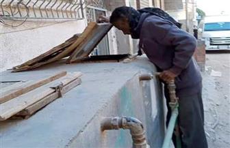 مسح 1200 خزان مياه خلال حملة لمكافحة الأمراض المتوطنة بمدن البحر الأحمر | صور