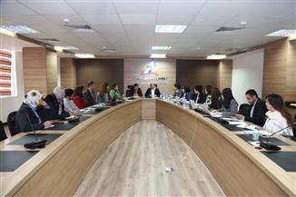 وفد الوكالة الكورية للتعاون الدولي يزور القومي للمرأة | صور