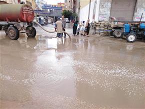 الأمطار توقف الصيد في المتوسط والبرلس بكفر الشيخ | صور