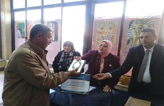 تكريم سائق في مديرية التعليم بكفر الشيخ بعد أن رد الأمانة لصاحبها | صور