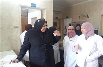 وكيلة وزارة الصحة بكفرالشيخ تعقد اجتماعين بالتمريض والشئون القانونية | صور
