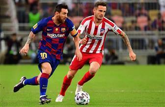 انطلاق مباراة برشلونة وأتليتكو مدريد بنصف نهائي السوبر الإسباني