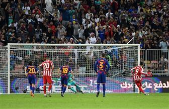 «موراتا» يتعادل لـ أتليتكو مدريد أمام برشلونة من علامة الجزاء
