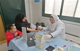 الكشف على 2500 مواطن في قافلة طبية بدمياط| صور