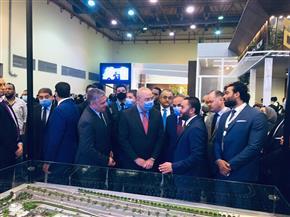 """وزير الإسكان يفتتح معرض الأهرام للعقارات""""عقاري"""" بمشاركة هيئة المجتمعات العمرانية"""