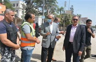 بعد غلقه 9 سنوات.. محافظ القليوبية: فتح شارع أحمد عبد الموجود ببنها | صور