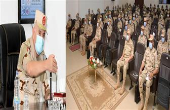 """الفريق محمد فريد يشهد المرحلة الرئيسية لمشروع """"تكتيكي بجنود"""" بالمنطقة الشمالية   صور"""