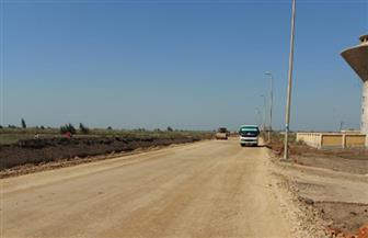 محافظ بورسعيد: الانتهاء من  85 من رفع كفاءة طرق جنوب المحافظة   صور