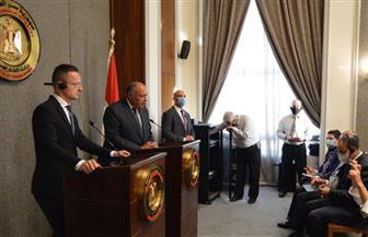وزير خارجية المجر: أمان أوروبا يبدأ من شمال إفريقيا.. ومصر من أهم الدول في المنطقة