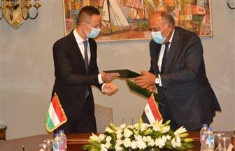 مصر والمجر توقعان مذكرتي تفاهم للتعاون في مجال النفط والغاز |صور