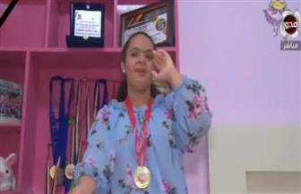 زهراء شحاتة.. من ذوي الهمم بطلة سباحة ونجمة تمثيل|فيديو