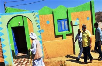 سكرتير عام محافظة أسوان يتفقد مشروعات مبادرة حياة كريمة | صور