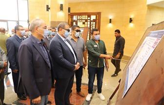 وزير القوى العاملة يزور جامعة الملك سلمان بجنوب سيناء ويتفقد المباني والمدرجات والملاعب الرئيسية| صور