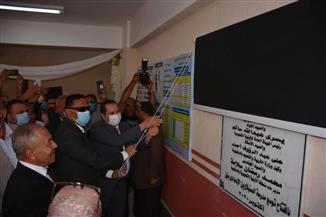 افتتاح توسعات بمدرستين ومبنى الإدارة التعليمية في السنبلاوين