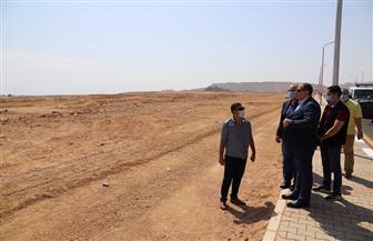 """""""سعفان"""" يتفقد الأرض المخصصة للقوى العاملة بشرم الشيخ   صور"""