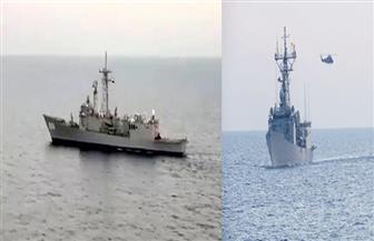 القوات البحرية المصرية والإسبانية تنفذان تدريبا بحريا عابرا بالبحر المتوسط