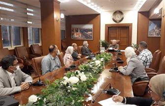 محافظ بورسعيد يبحث تعزيز التعاون وتنمية المشروعات مع رئيس هيئة الثروة السمكية| صور