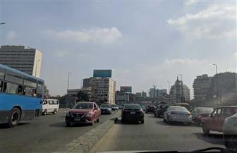 النشرة المرورية .. كثافات مرورية بكوبري أكتوبر وكورنيش النيل مع ساعات الذروة الصباحية| صور