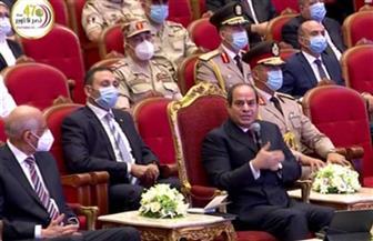 الرئيس السيسي: خبرة مصر التاريخية مع الحروب والأزمات تتطلب الوعى بضرورة الحفاظ على الدولة