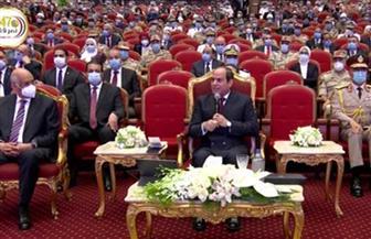 الرئيس السيسي يوجه التحية لرجال القوات المسلحة الذين بذلوا الكثير من أجل مصر