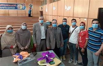 كلية الطب البيطري بجامعة المنوفية تستعد لاستقبال الطلاب الجدد | صور