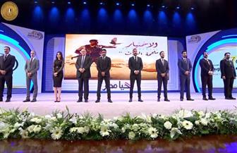 """أبطال مسلسل """"الاختيار"""" يوجهون الشكر للرئيس السيسي وللقوات المسلحة"""
