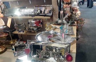 """العارضون بـ""""تراثنا"""" يتحدثون لـ""""بوابة الأهرام"""": زيارة الرئيس السيسي ساهمت في زيادة المبيعات/ صور"""