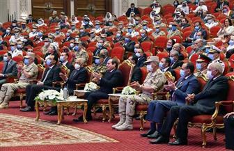 نص كلمة مايا مرسي أمام الرئيس السيسي في فعاليات الندوة التثقيفية