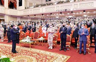 ننشر تفاصيل مشاركة الرئيس السيسي في الندوة التثقيفية للقوات الـ 32| صور