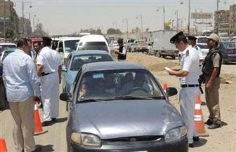 """ضبط 511 مخالفة """"مرورية"""" حصيلة حملة على الطرق بالغربية"""