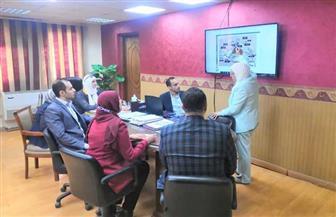 نائب محافظ القاهرة تشرح دورة العمل بالمنطقة الجنوبية لممثلي البرنامج الرئاسي