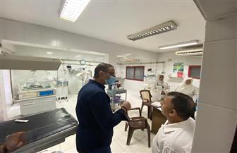 محافظ الفيوم يرصد نقص المستلزمات بمستشفى إطسا.. وضبط 4 مقاه تقدم الشيشة | صور